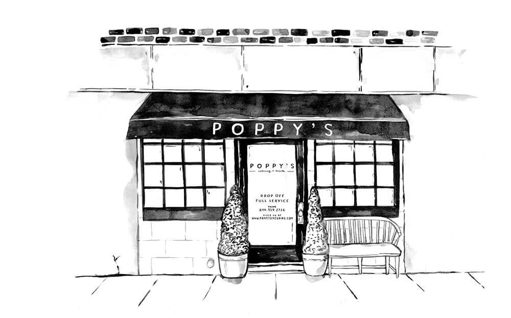Poppys storefront